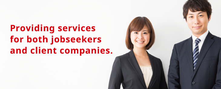 Providing services for both jobseekers and client companies.